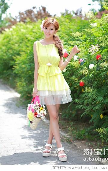 田园风范 清凉上阵 - 穿衣打扮 - 服饰搭配,美容知识