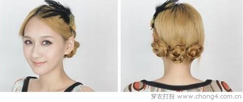 洛可可风发型DIY