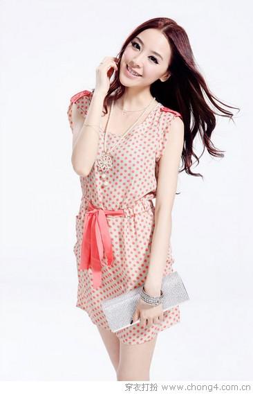 浪漫夏季 粉红色的时尚回忆