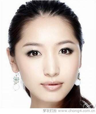 楚楚动人 下眼睑眼妆画法
