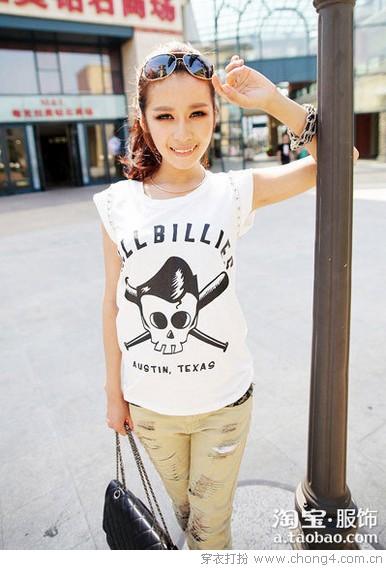 好感度T恤 轻熟女也甜美