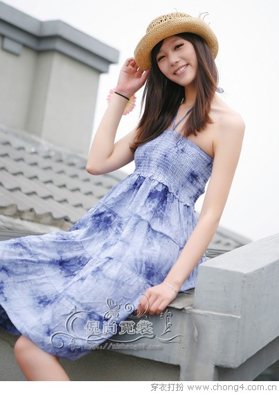 美裙大盘点 波西米亚长裙