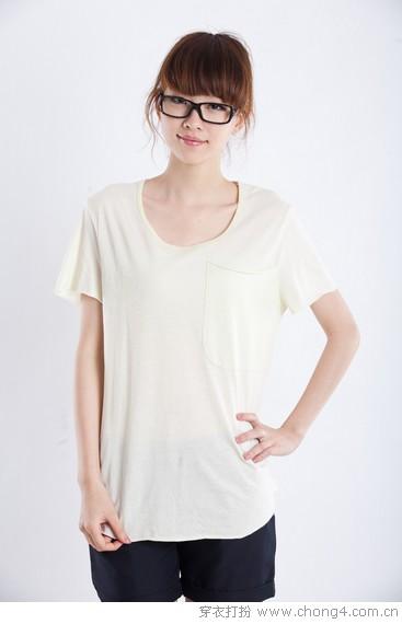 时尚T恤夏貌换秋颜