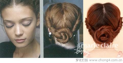 妮薇雅图解示范八款度假风发型 - 妮薇雅 - 美容美发化妆培训学校