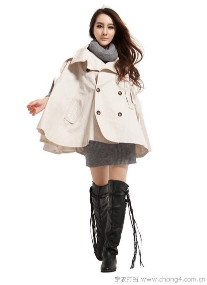 春款衣服搭配_斗篷式外套的魔幻气场 - 穿衣打扮 - 服饰搭配,美容知识