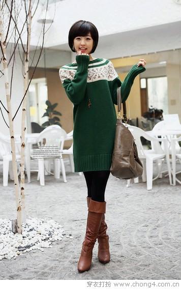 气质美裙的优雅秋冬范