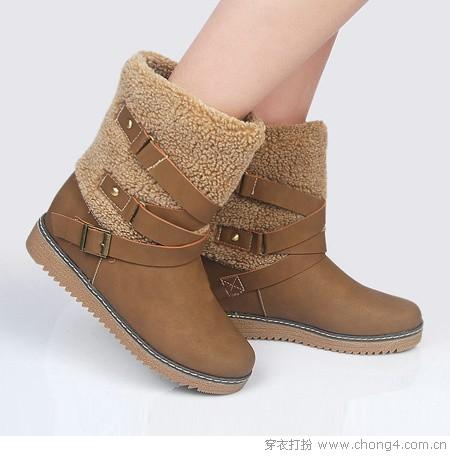雪地靴演绎唯美冬日风