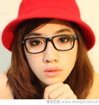 眼镜妹画眼妆技巧