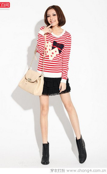 <a style='top:0px;' href=/index.php/article/tag/k/%25E6%259F%2594%25E6%2583%2585%25E8%259C%259C%25E6%2584%258F.html target=_blank ><strong style='color:red;top:0px;'>柔情蜜意</strong></a>蝴蝶结毛衣