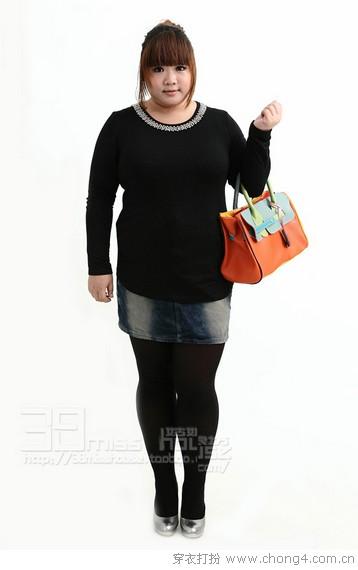 胖女孩穿衣法则