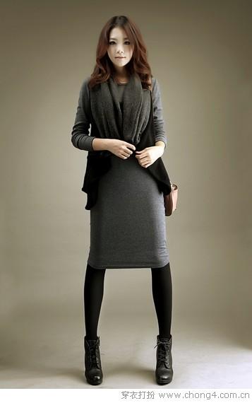 七款美裙打造一周穿衣搭配