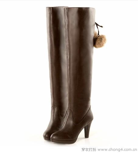 过膝长靴 魅力飙升的暗器
