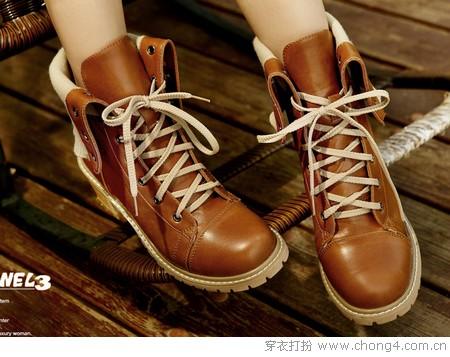 酷感马丁靴 高街时尚圣品