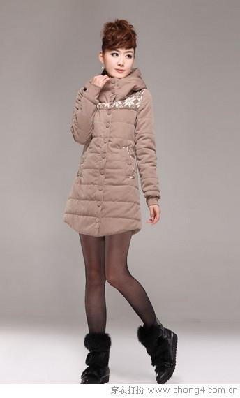 时尚棉服 冬日潮搭美翻天