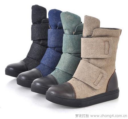 让高跟鞋休息 平底短靴才是王道