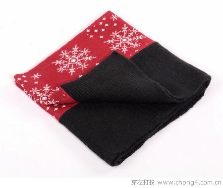 巧搭围巾 时尚保暖两不误