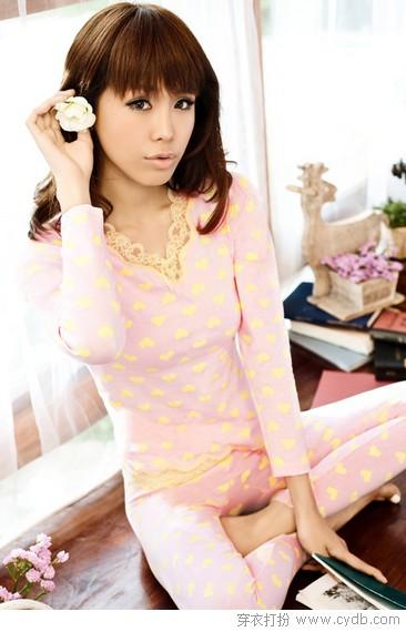 粉色蜜桃 塑造美女形象