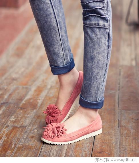 优雅至上 裸粉系单鞋