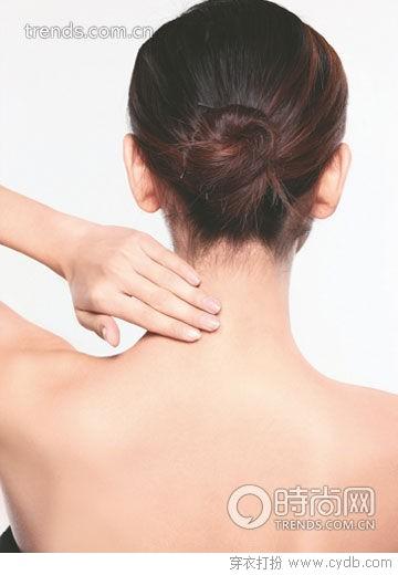 颈部按摩四步手法