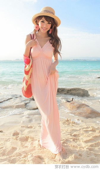 海边长裙的记忆