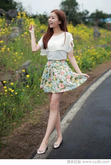 爱在那身小短裙