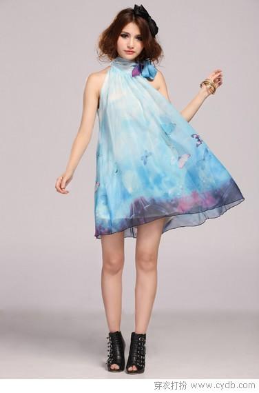 像油画一般美的裙