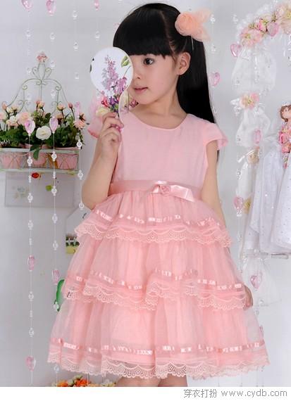 可爱公主裙 妞妞是公主
