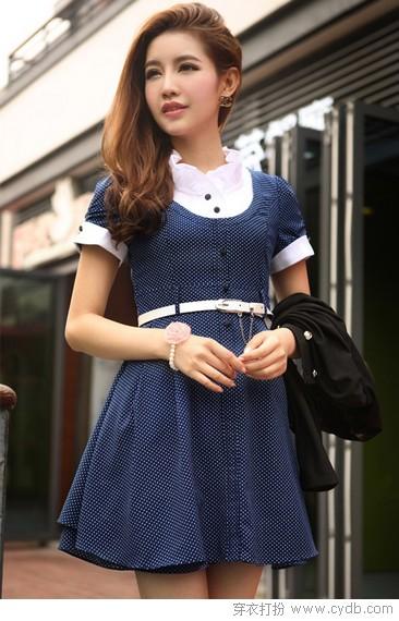 甜美可爱夏款连衣裙