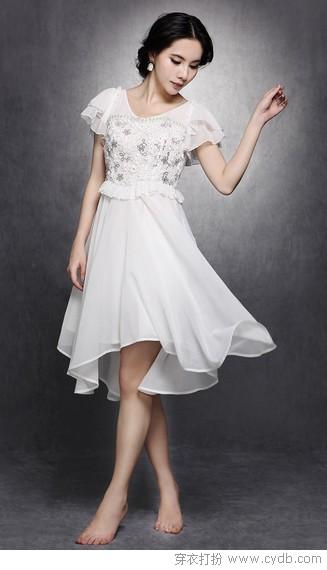 白色连衣裙 你无法拒绝的纯美