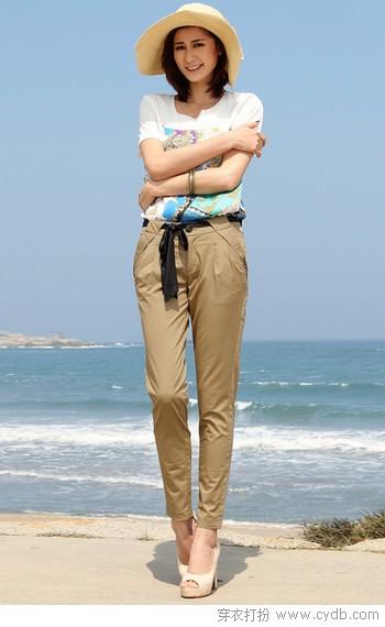 清凉又显瘦的夏日长裤