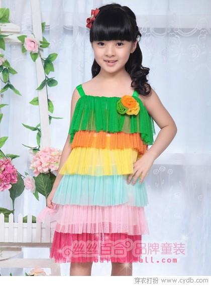 儿童连衣裙 妞妞最喜欢