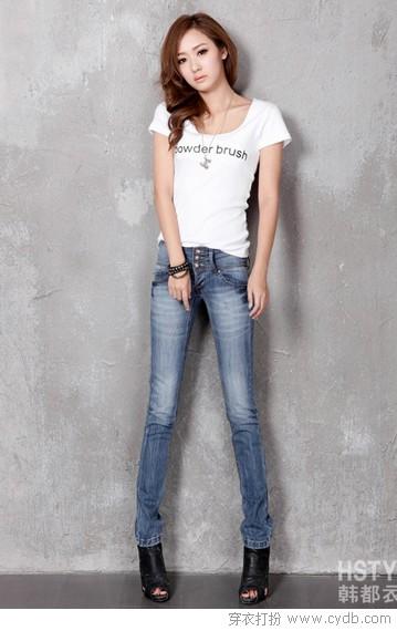 直筒裤:不只是瘦腿那么简单