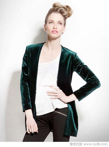 天鹅绒=高贵+优雅+时尚