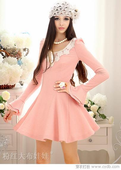 俏皮连衣裙 谁的秋天如此美丽