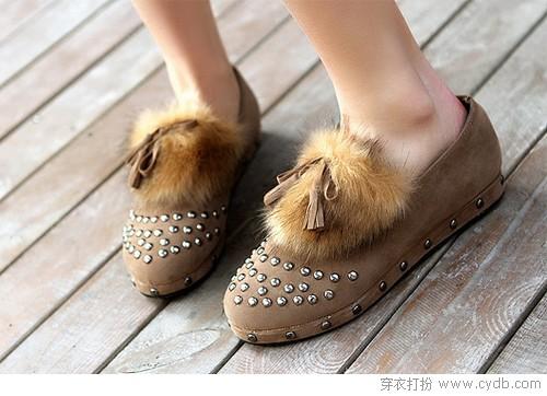 甜心女生必备圆头鞋
