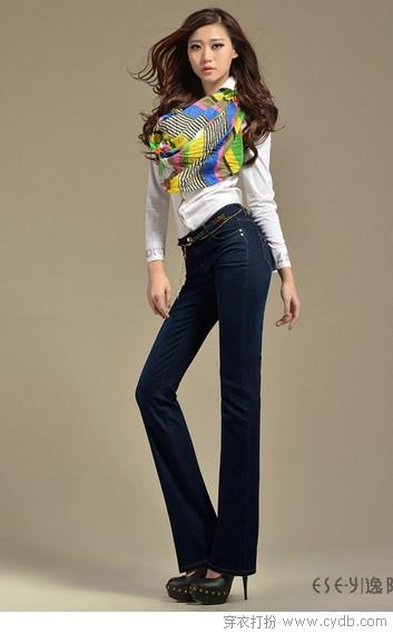 秋季矮个女生的显高长裤