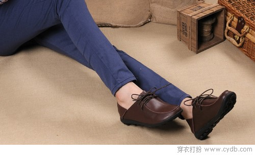 秋季平底鞋,低调的优雅