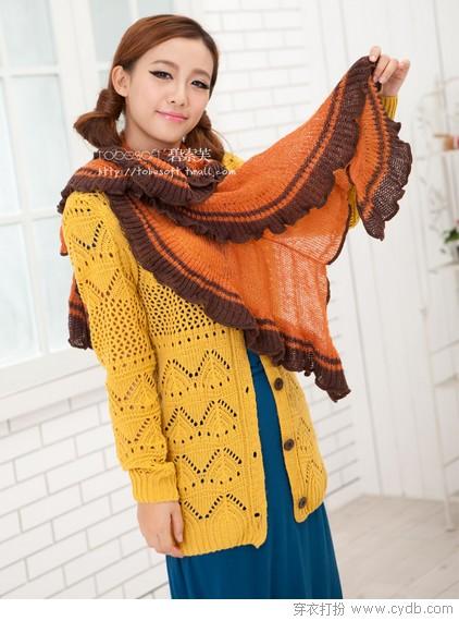 优雅围巾 温软如春