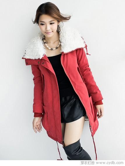 超美<a style='top:0px;' href=/index.php/article-tag-k-%25E6%25A3%2589%25E6%259C%258D.html target=_blank ><strong style='color:red;top:0px;'>棉服</strong></a>外套 可当连衣裙穿