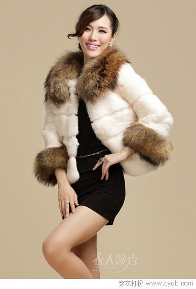 风靡秋冬兔毛元素之衣衣篇