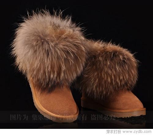 寒从脚起 雪地靴扮美送温暖