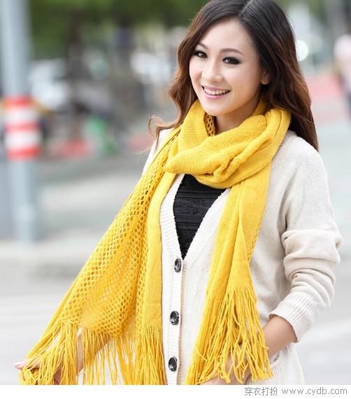 编织出最美的温度 颈上添花