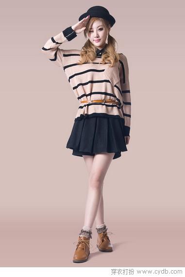 超短裙的华丽秋冬