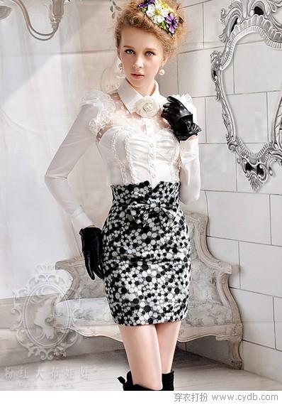 小短裙的快乐冬天