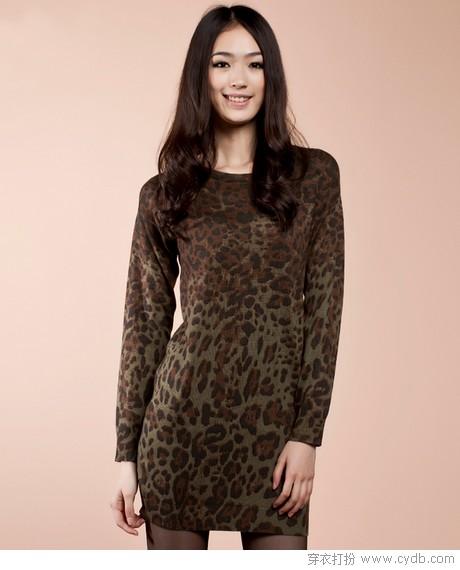 小剂量豹纹 为时尚大加分