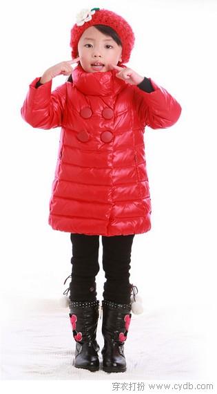 宝宝过冬暖暖的之女童篇