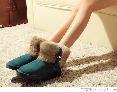 那些看了就想穿的雪地靴