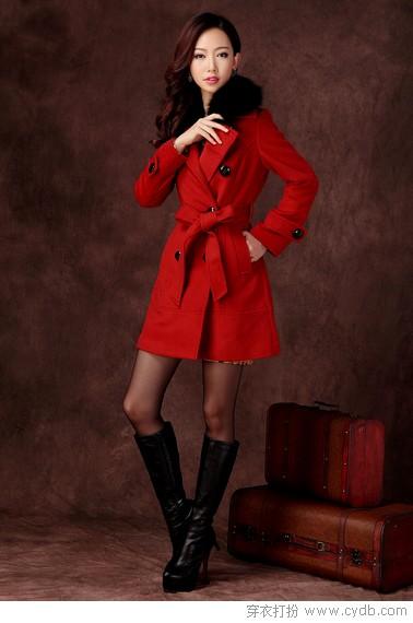 令人惊艳的红色系外套