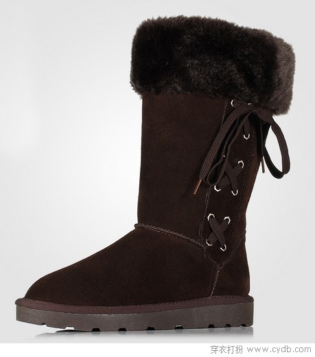 毛绒暖靴 为双脚温暖护航