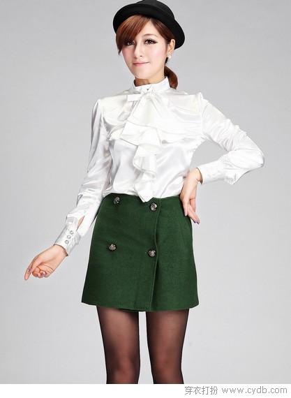 如果你也爱短裙